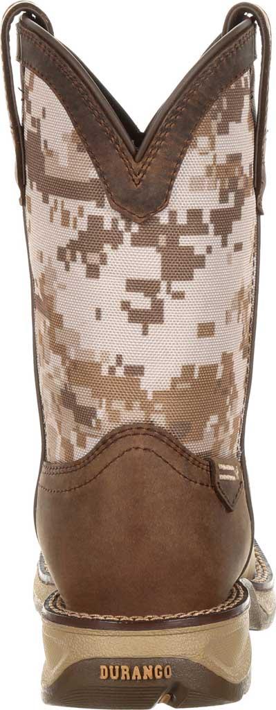 Children's Durango Boot DBT0208C Lil' Rebel Cowboy Boot - Little Kid, Dusty Brown/Desert Camo Full Grain Leather/Nylon, large, image 5