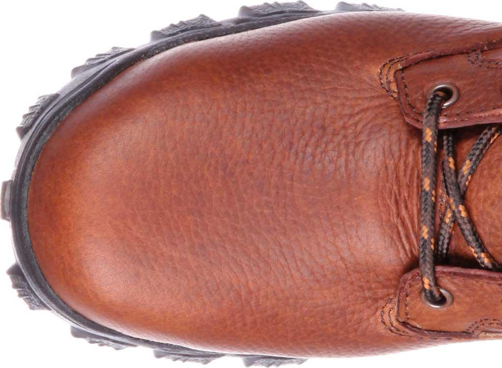 Men's Rocky Alpha Force Steel Toe Fully WP Work Boot RKK0190, Brown Full Grain Leather/Nylon, large, image 6