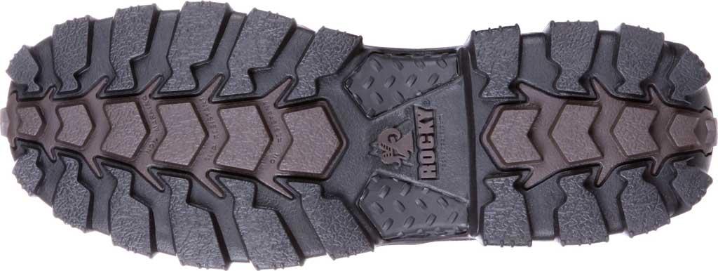 Men's Rocky Alpha Force Steel Toe Fully WP Work Boot RKK0190, Brown Full Grain Leather/Nylon, large, image 7