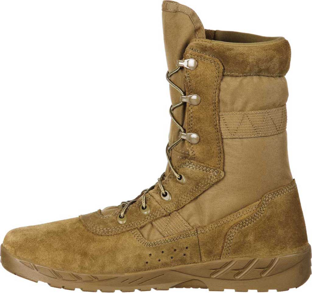 Men's Rocky C7 CXT Lightweight Commercial Military Boot RKC065, Coyote Brown Leather/Synthetic, large, image 3