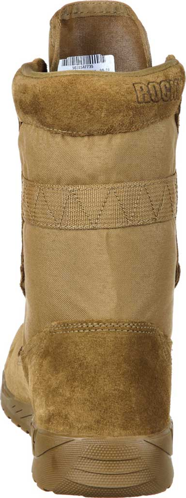 Men's Rocky C7 CXT Lightweight Commercial Military Boot RKC065, Coyote Brown Leather/Synthetic, large, image 5