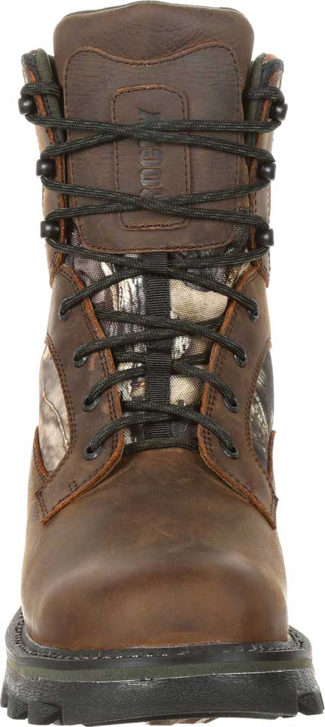 Men's Rocky BearClaw FX 800G Insulated WP Outdoor Boot RKS0399, Brown/Mossy Oak Country Full Grain Leather/Nylon, large, image 4