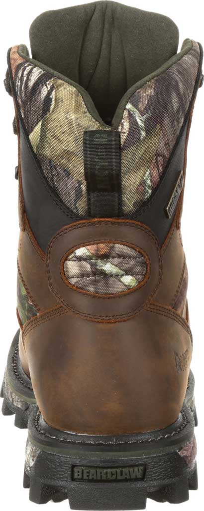 Men's Rocky BearClaw FX 800G Insulated WP Outdoor Boot RKS0399, Brown/Mossy Oak Country Full Grain Leather/Nylon, large, image 5