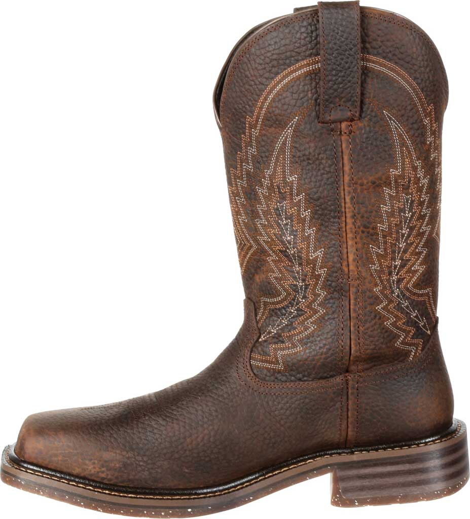 Men's Rocky Riverbend Composite Toe WP Western Boot RKW0228, Dark Brown Full Grain Leather, large, image 3
