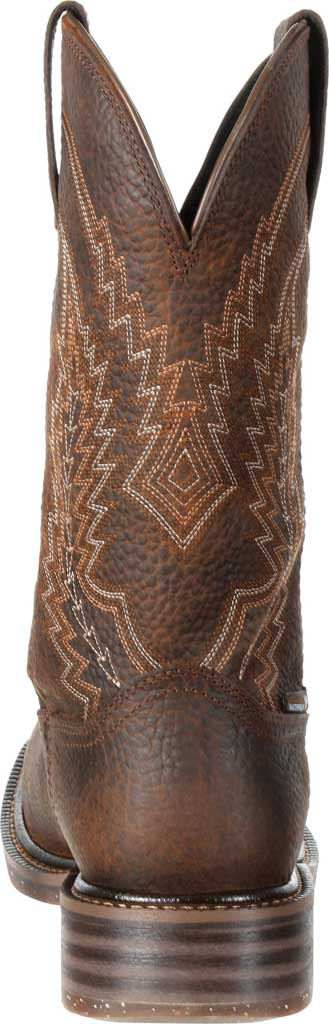 Men's Rocky Riverbend Composite Toe WP Western Boot RKW0228, Dark Brown Full Grain Leather, large, image 5