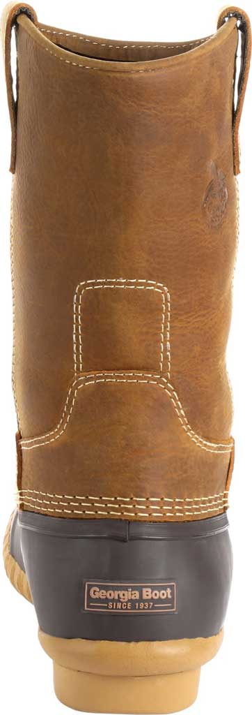 Men's Georgia Boot GB00276 Marshland Pull On Duck Boot, Brown Leather/Textile, large, image 4