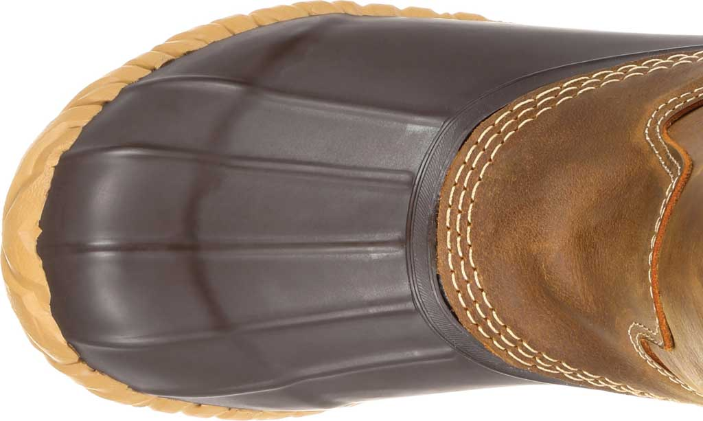 Men's Georgia Boot GB00276 Marshland Pull On Duck Boot, Brown Leather/Textile, large, image 5