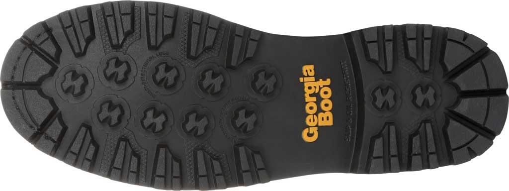 Men's Georgia Boot GB00272 AMP LT Logger Composite Toe Work Boot, Black Full Grain SPR Leather, large, image 6