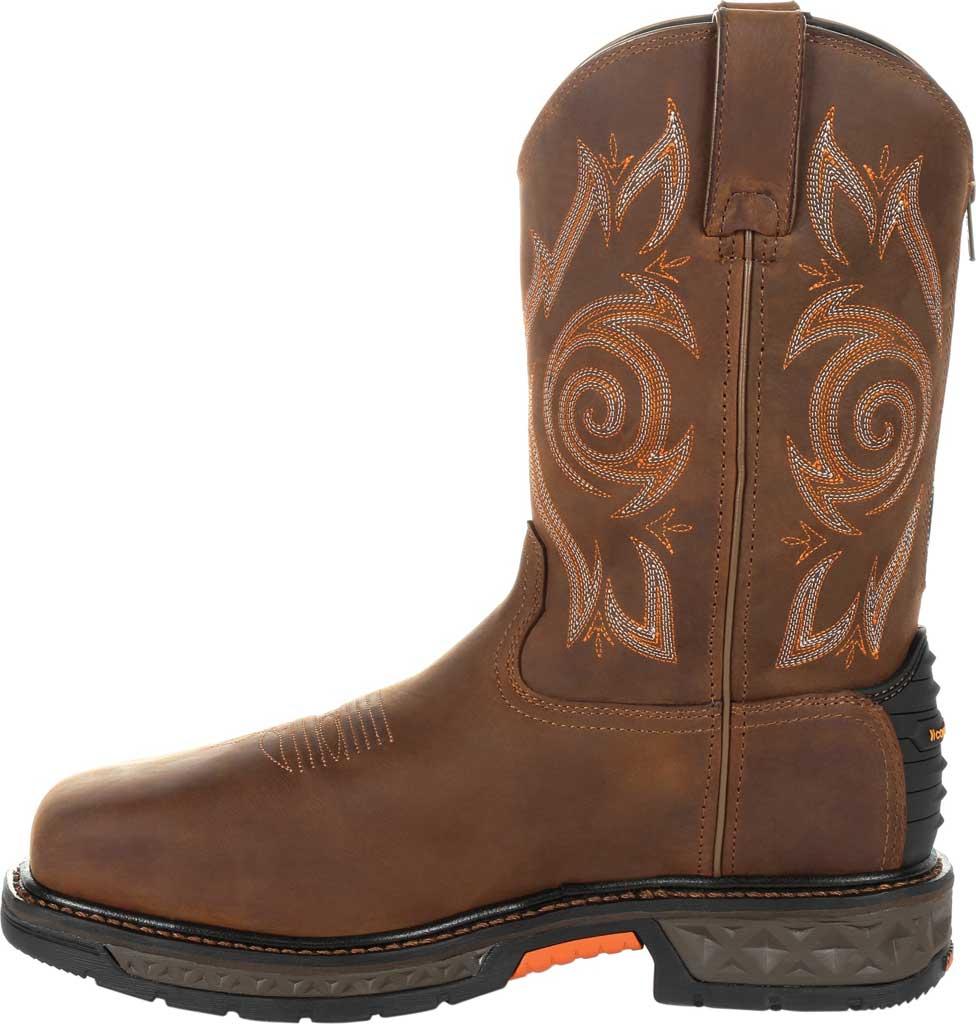 Men's Georgia Boot GB00264 Carbo-Tec LT Steel Toe Work Boot, Brown Full Grain Leather, large, image 3