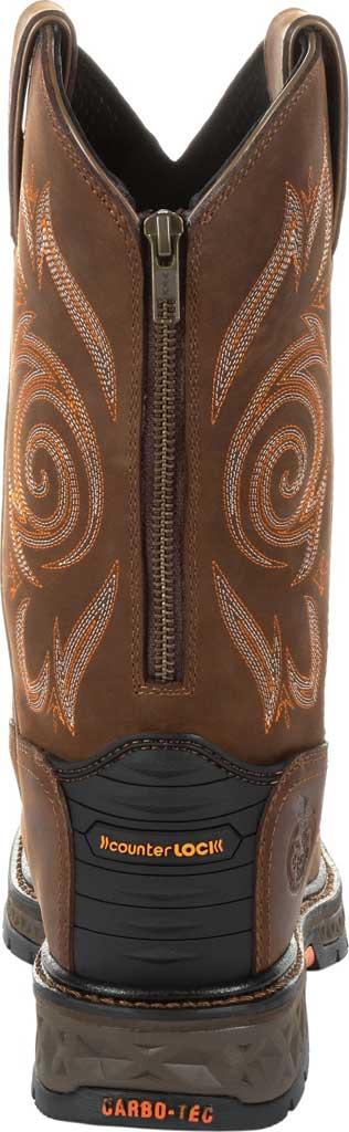 Men's Georgia Boot GB00264 Carbo-Tec LT Steel Toe Work Boot, Brown Full Grain Leather, large, image 4