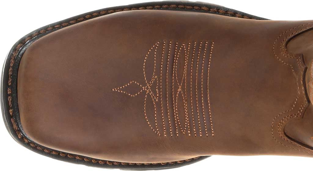 Men's Georgia Boot GB00264 Carbo-Tec LT Steel Toe Work Boot, Brown Full Grain Leather, large, image 5