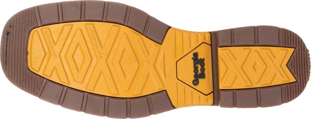 Men's Georgia Boot GB00266 Carbo-Tec LT Waterproof Pull On Work Boot, Black/Brown Full Grain SPR Leather, large, image 6