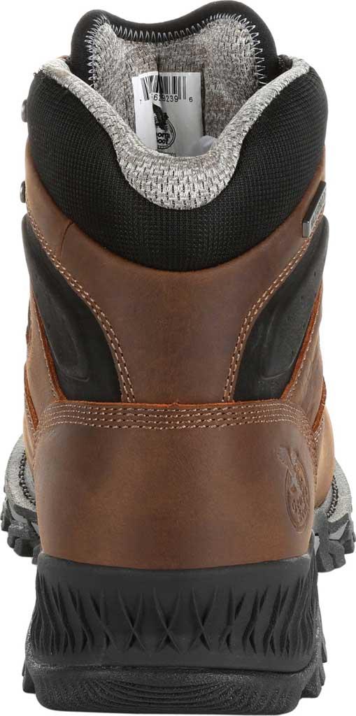"""Men's Georgia Boot GB00284 6"""" Rumbler Comp Toe Waterproof Work Boot, Black/Brown Full Grain Leather, large, image 4"""