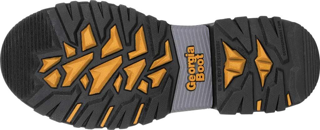 """Men's Georgia Boot GB00284 6"""" Rumbler Comp Toe Waterproof Work Boot, Black/Brown Full Grain Leather, large, image 6"""