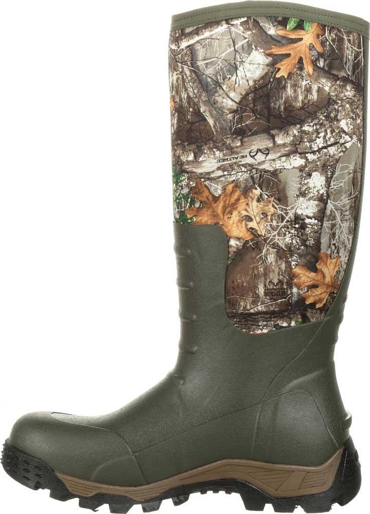 "Men's Rocky 16"" Sport Pro Rubber Outdoor Boot RKS0383, Realtree Edge Neoprene, large, image 3"
