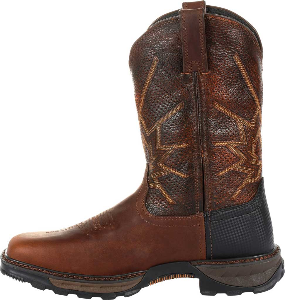 Men's Durango Boot DDB0204 Maverick XP Ventilated Western Work Boot, Tobacco Full Grain Leather, large, image 3
