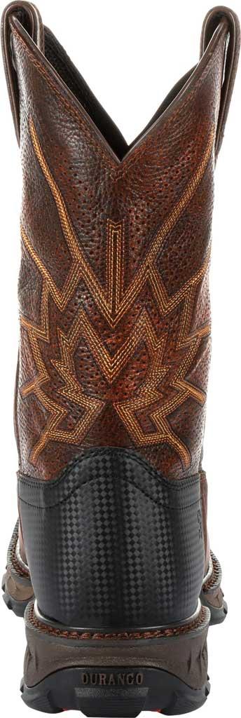 Men's Durango Boot DDB0204 Maverick XP Ventilated Western Work Boot, Tobacco Full Grain Leather, large, image 4