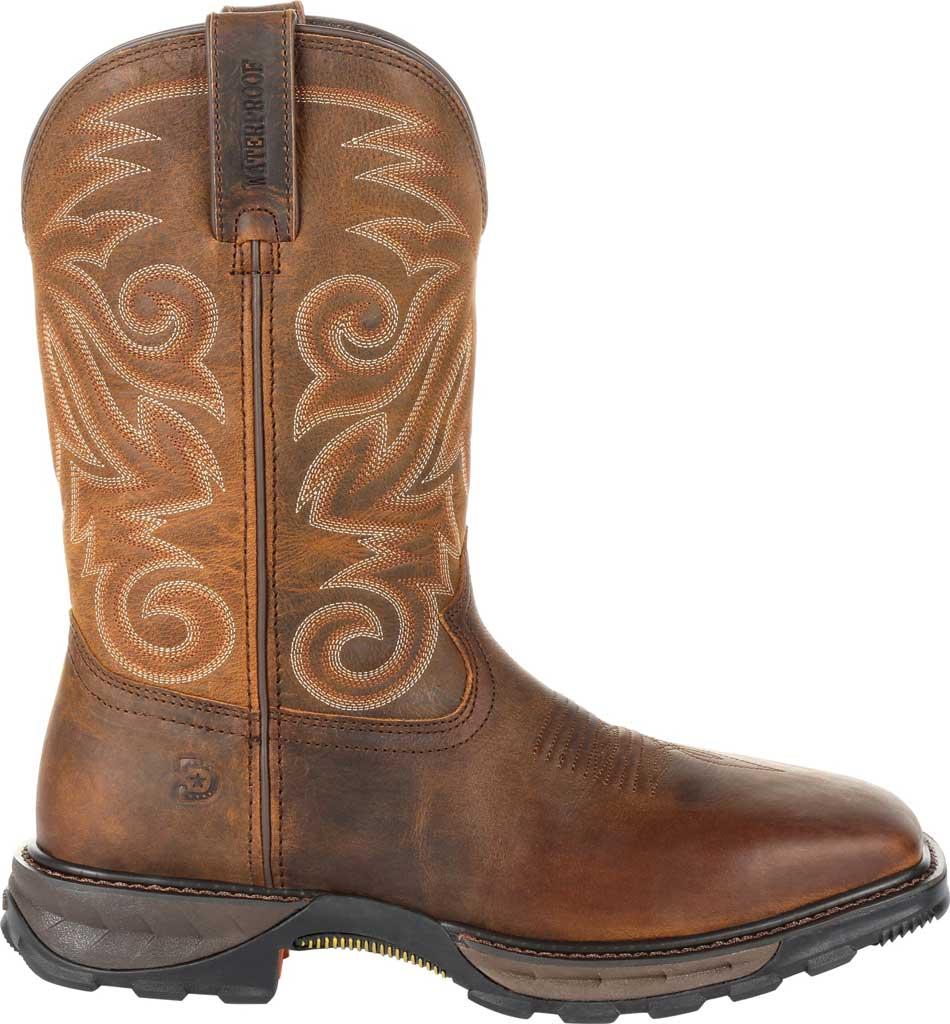 Men's Durango Boot DDB0206 Maverick XP Ventilated Western Work Boot, Burly Brown Full Grain Leather, large, image 2