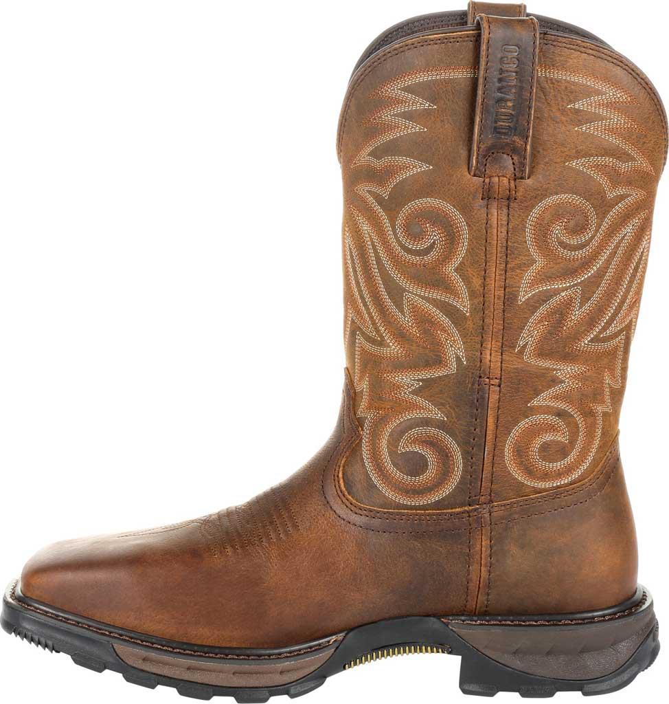 Men's Durango Boot DDB0206 Maverick XP Ventilated Western Work Boot, Burly Brown Full Grain Leather, large, image 3