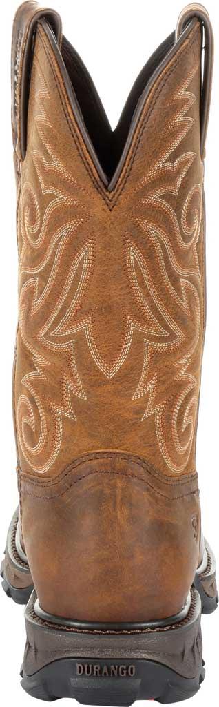 Men's Durango Boot DDB0206 Maverick XP Ventilated Western Work Boot, Burly Brown Full Grain Leather, large, image 4