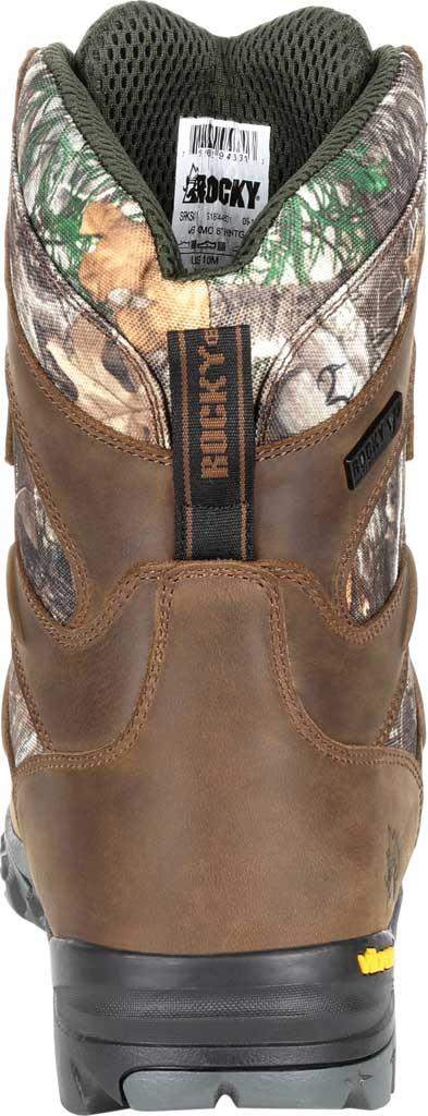 Men's Rocky Deerstalker Waterproof 800G Insulated Hiking Boot, Realtree Edge Full Grain Leather/Nylon, large, image 4