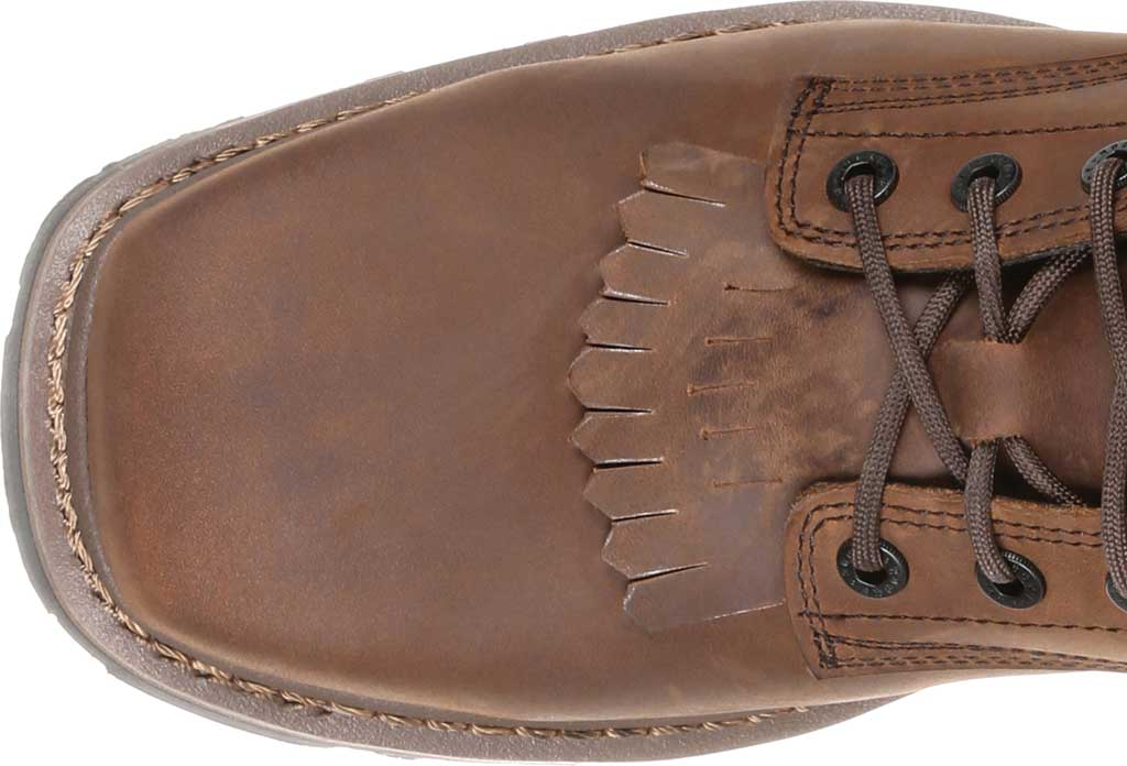 Men's Rocky Square Toe Logger Composite Toe Waterproof Boot, Dark Brown Full Grain Leather, large, image 5