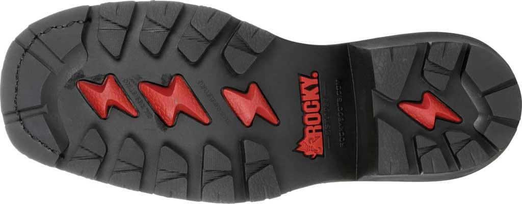 Men's Rocky Square Toe Logger Composite Toe Waterproof Boot, Dark Brown Full Grain Leather, large, image 6