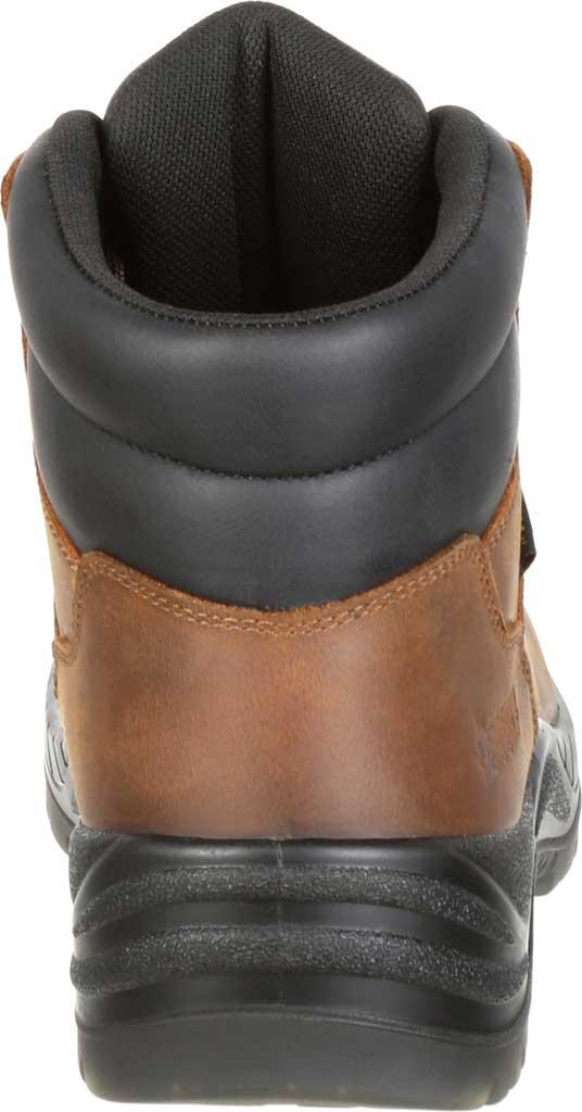 Men's Rocky Worksmart Waterproof Work Boot, Brown Full Grain Leather, large, image 4