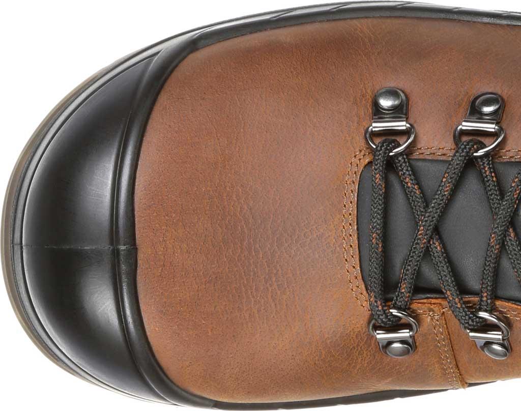 Men's Rocky Worksmart Waterproof Work Boot, Brown Full Grain Leather, large, image 5