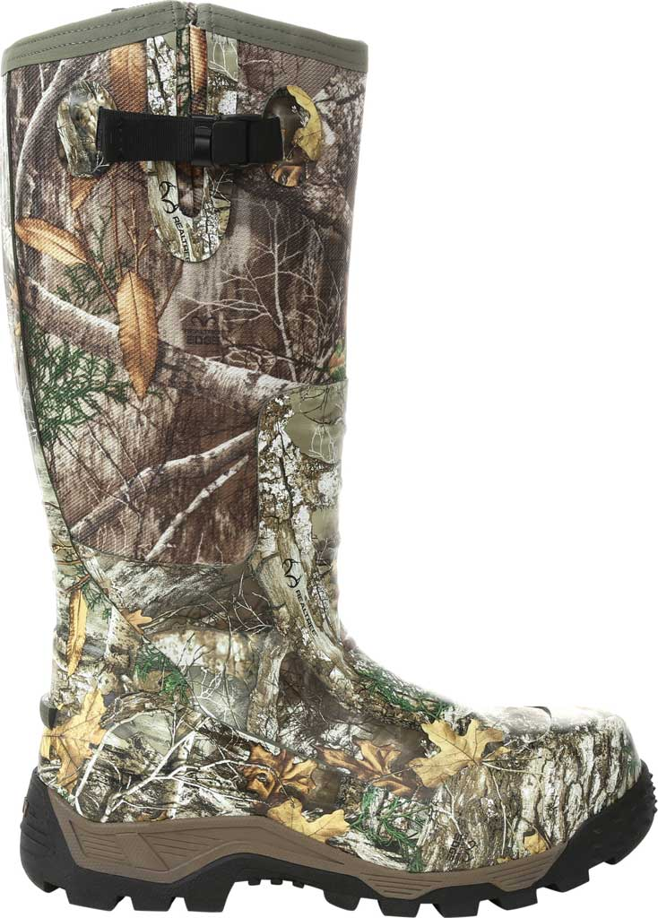 Men's Rocky Sport Pro Pull-On Snake Waterproof Boot, Realtree Edge/Textile, large, image 2