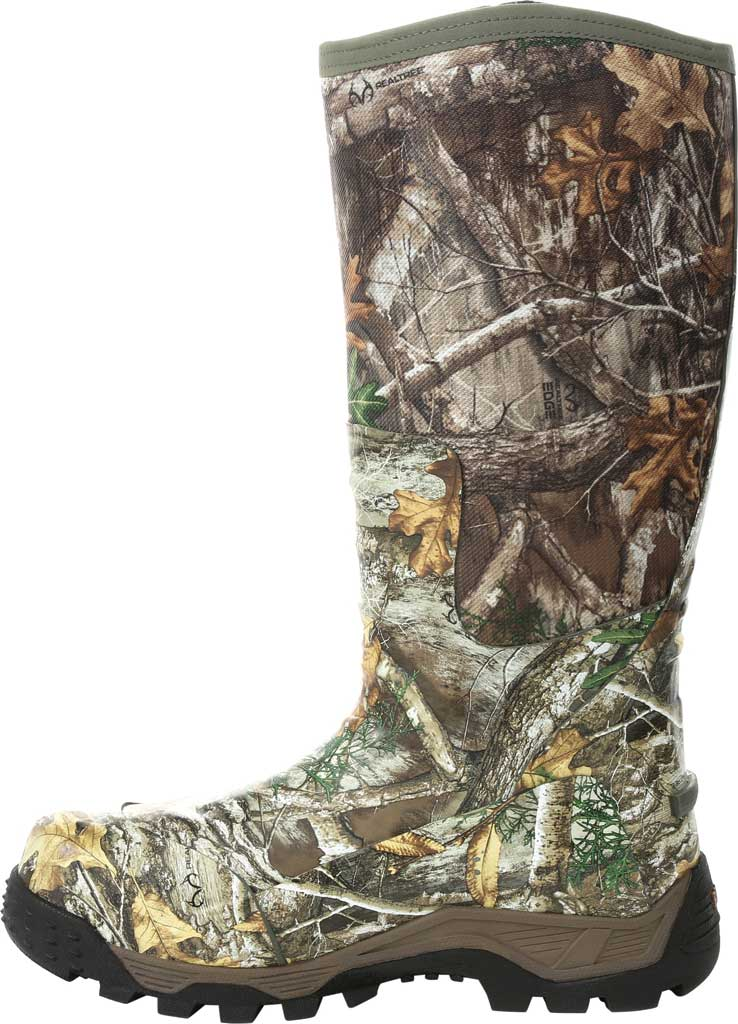 Men's Rocky Sport Pro Pull-On Snake Waterproof Boot, Realtree Edge/Textile, large, image 3