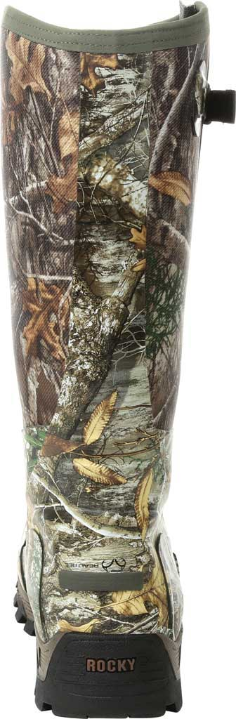 Men's Rocky Sport Pro Pull-On Snake Waterproof Boot, Realtree Edge/Textile, large, image 4