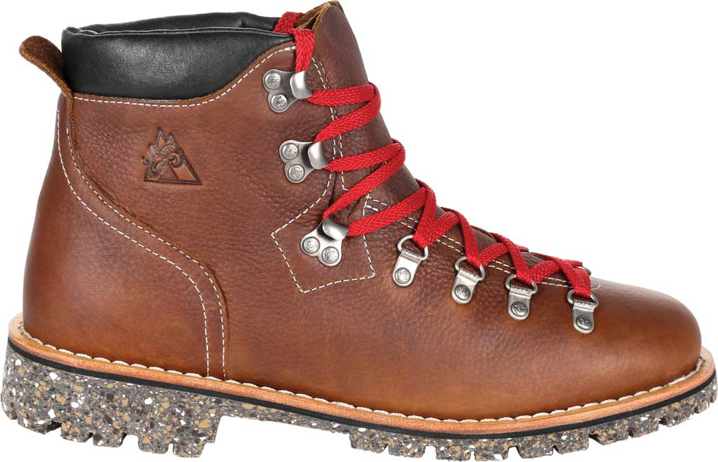 """Men's Rocky Collection 32 Small Batch 6"""" Boot, Brown Full Grain Leather, large, image 2"""