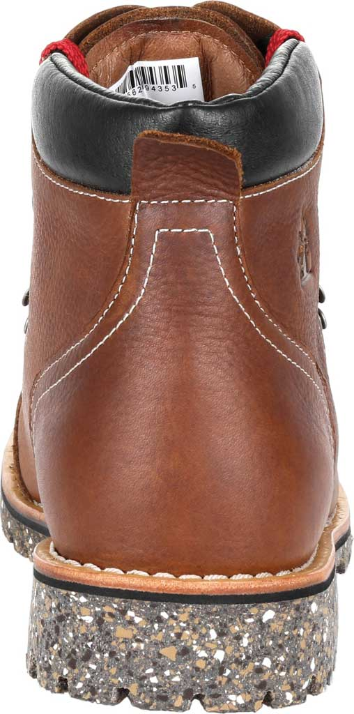 """Men's Rocky Collection 32 Small Batch 6"""" Boot, Brown Full Grain Leather, large, image 4"""
