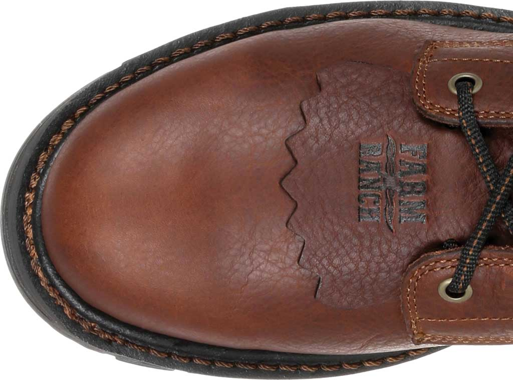 Men's Georgia Boot GB00309 Carbo-Tec LT Waterproof Lacer Work Boot, Brown Full Grain SPR Leather, large, image 5