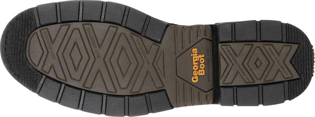 Men's Georgia Boot GB00309 Carbo-Tec LT Waterproof Lacer Work Boot, Brown Full Grain SPR Leather, large, image 6