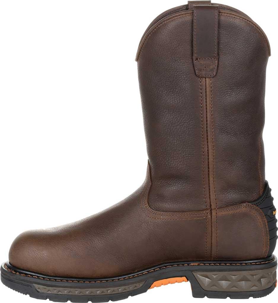 Men's Georgia Boot GB00310 Carbo-Tec LT WP Steel Toe Work Boot, Brown Full Grain SPR Leather, large, image 3