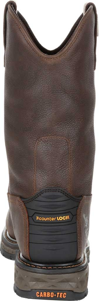 Men's Georgia Boot GB00310 Carbo-Tec LT WP Steel Toe Work Boot, Brown Full Grain SPR Leather, large, image 4