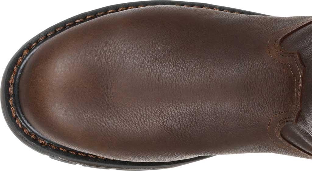 Men's Georgia Boot GB00310 Carbo-Tec LT WP Steel Toe Work Boot, Brown Full Grain SPR Leather, large, image 5