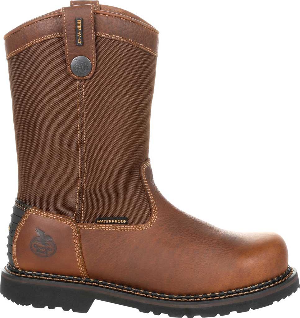 Men's Georgia Boot GB00319 Georgia Giant Revamp ST Pull-On Work Boot, Brown Full Grain Leather/Nylon, large, image 2