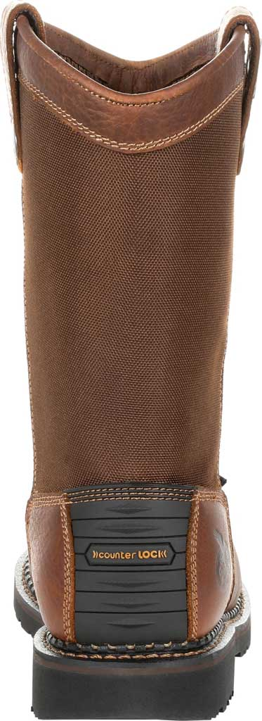 Men's Georgia Boot GB00319 Georgia Giant Revamp ST Pull-On Work Boot, Brown Full Grain Leather/Nylon, large, image 4