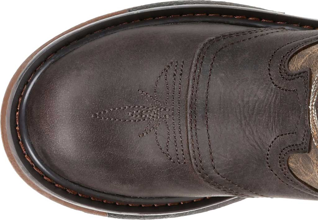 """Children's Rocky 8"""" Ride FLX Wellington RKW0301C - Little Kid, Old Town Brown/Tan Leather, large, image 5"""