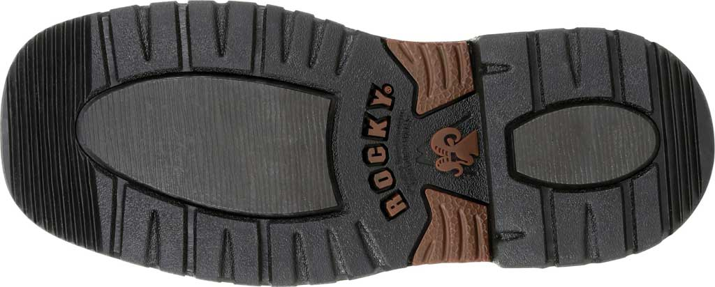 """Children's Rocky 8"""" Ride FLX Western Boot RKW0302Y - Big Kid, Brown/Purple Leather, large, image 6"""