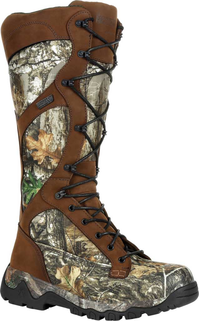 Men's Rocky Red Mountain Waterproof Snake Boot RKS0449, Realtree Edge Leather, large, image 1