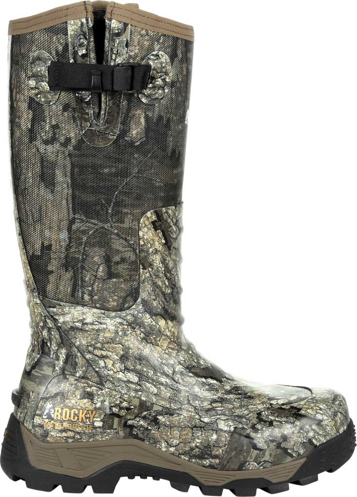 Men's Rocky Sport Pro Pull On Rubber Snake Boot RKS0450, Realtree Timber Textile, large, image 2