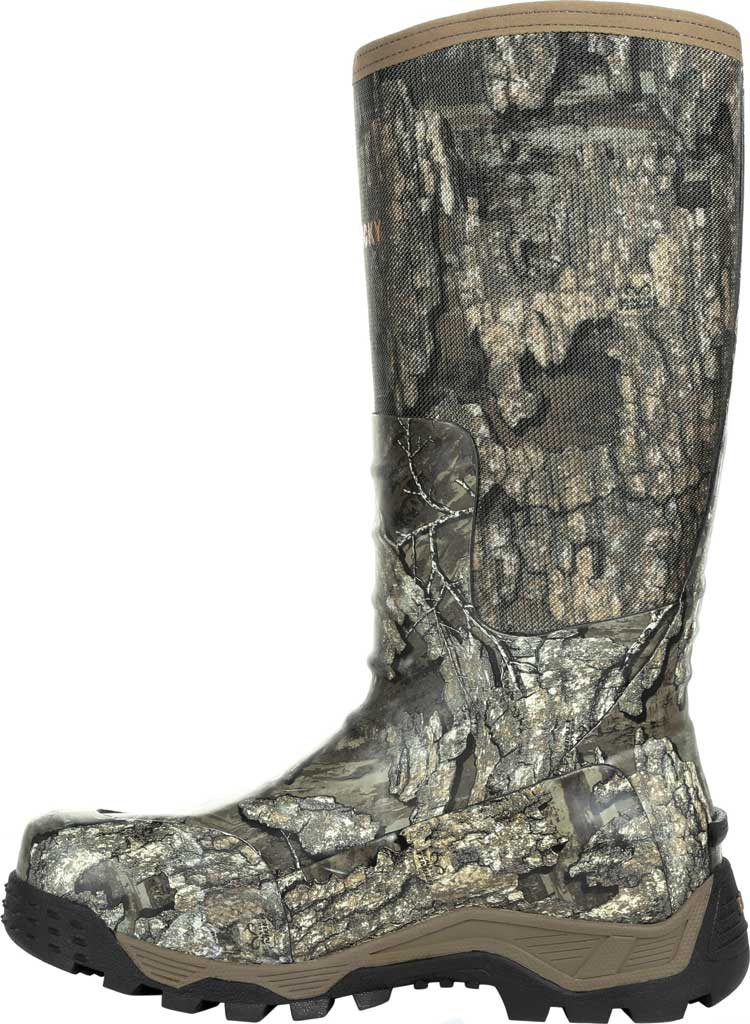 Men's Rocky Sport Pro Pull On Rubber Snake Boot RKS0450, Realtree Timber Textile, large, image 3