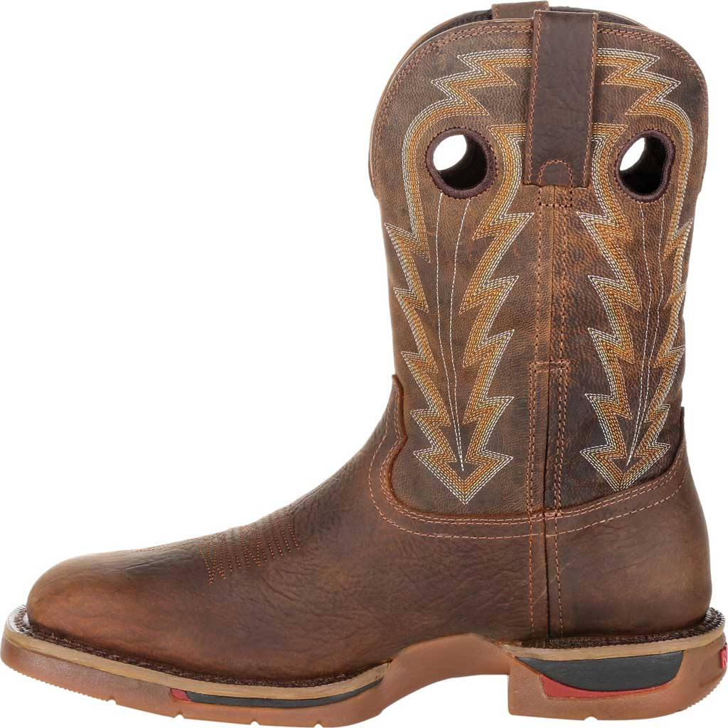 Men's Rocky Long Range Composite Toe Waterproof Boot RKW0303, Distressed Brown Full Grain Leather, large, image 3