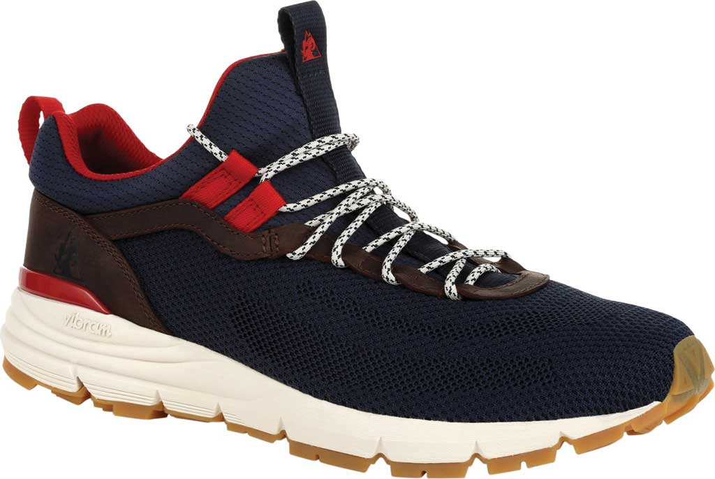 Men's Rocky Rugged AT Outdoor Sneaker RKS0451, Trail Brown Navy Knit, large, image 1