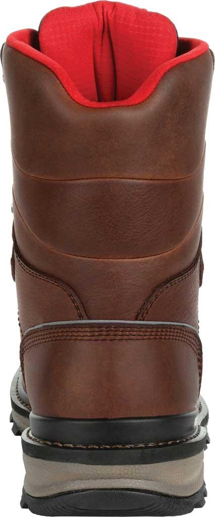 Men's Rocky Rams Horn Composite Toe Waterproof Work RKK0297, Dark Brown Leather, large, image 4