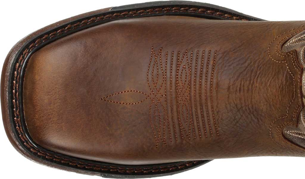 Men's Rocky Original Ride FLX Steel Toe Boot RKW0304, Brown Full Grain Leather, large, image 5